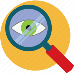 discover, enlarge, look, magnify, magnifying glass, search icon