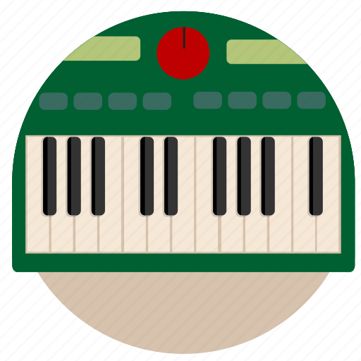 electronic, keys, music, piano, play, synth, synthesizer icon