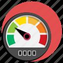 car, display, kph, mph, speed, speedometer