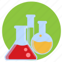 bottles, lab, laboratory, potion, potions, test tube icon
