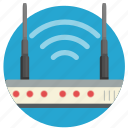 communication, internet, modem, router, transmit, wi-fi, wifi icon