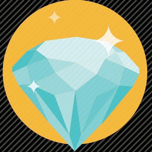 diamond, expensive, jewelry, polish, shiny icon