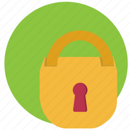 block, lock, padlock, security, unlock icon