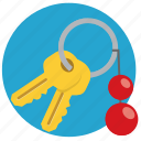 car, car keys, key, keys, open, unlock icon