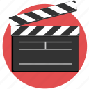 action, cut, film, movie, video icon