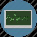 health, hospital, medical, monitor icon icon