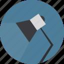 desk, lamp, light icon icon