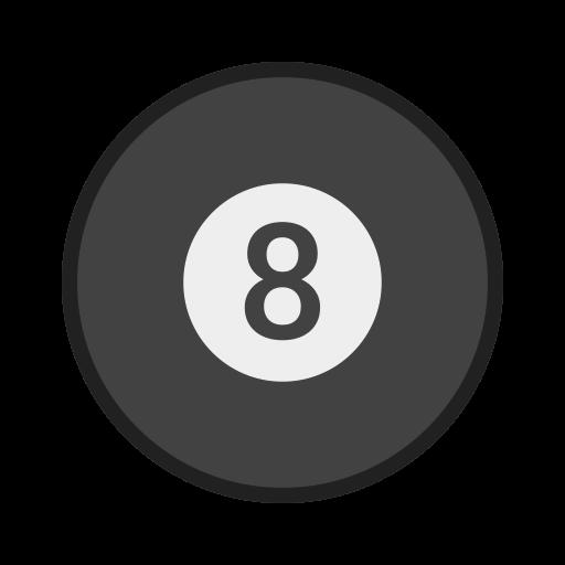 balls, bola, eight, sinuca, snooker, sport icon