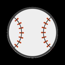 baseball, baseball bat, bat, beisebol, strike icon