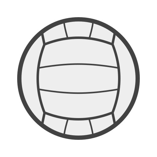 court, set, volleyball, volêi icon