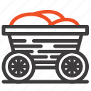 bangladesh, cart, food, trolley icon