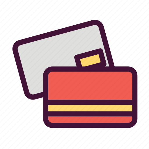 bank, dollar, finance, mastercard, money, saving icon