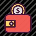 saving, finance, money, dollar, wallet, bank