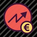saving, finance, money, dollar, increase, bank, euro