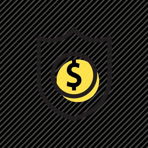 bank, banking, finance, guard, money icon