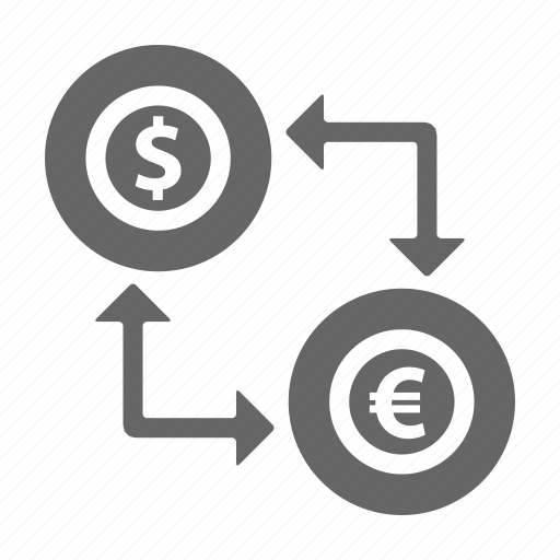 bank, dollar, euro, finance, money, saving icon