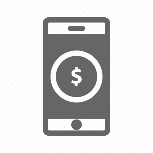 apps, bank, dollar, finance, money, saving, smartphone icon