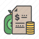bank, banking, budgeting, dollar, finance, money icon