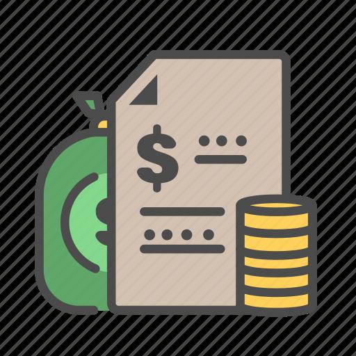 bank, banking, budgeting, dollar, finance, money icon
