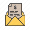 bank, banking, e, finance, mail, money, transfer icon