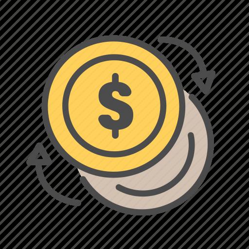barter, change, exchange, negotiate, swap icon