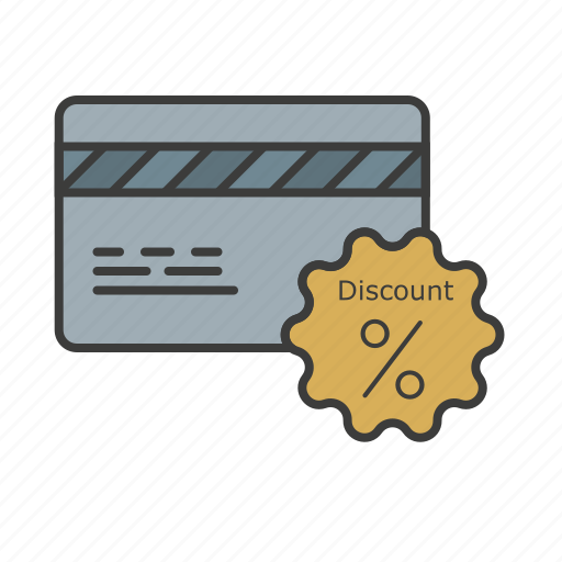cashout, credit card, discount, money icon