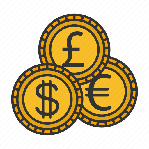 cash, cent, currency, dollar, euro, money, pound icon