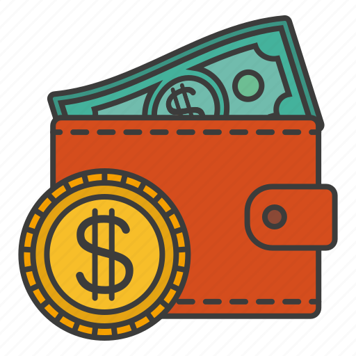 cent, credit, money, salary, wallet icon