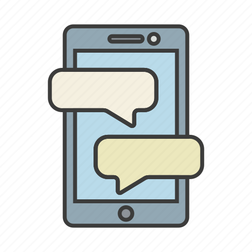 chat, communication, message, phone, texting icon