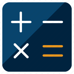 bank, calculate, calculations, calculator, savings icon