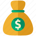 bag, bank, ecommerce, finance, money, savings icon