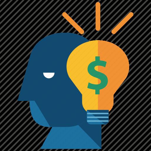bank, idea icon