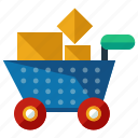 bank, cart, ecommerce, finance, savings, shop, shopping icon