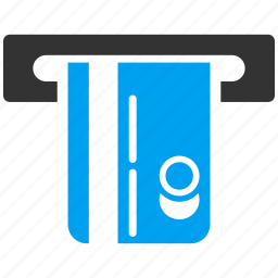 atm terminal, cash machine, finance, financial, money, payment, transaction icon