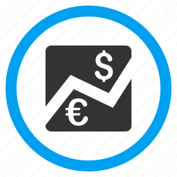 banking business, change, currency exchange, euro, forex, market, money transfer icon