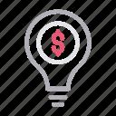 banking, bulb, creative, idea, innovation