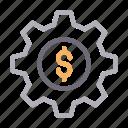 banking, configure, dollar, money, setting