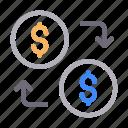 currency, dollar, exchange, saving, transfer
