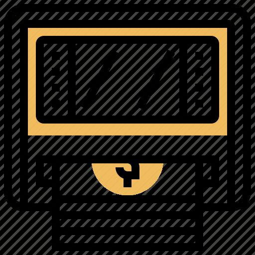 Atm, automatic, cash, machine, teller icon - Download on Iconfinder