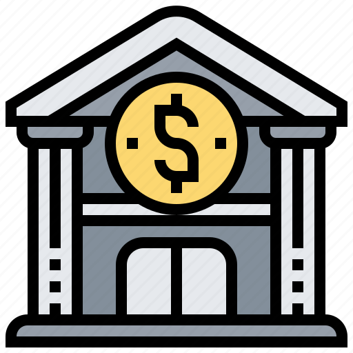 architecture, bank, building, financial, institute icon