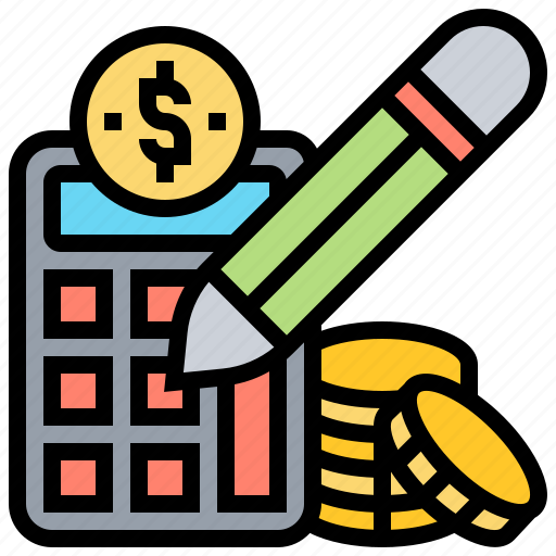 Accountant, analysis, calculation, financial, pencil icon - Download on Iconfinder