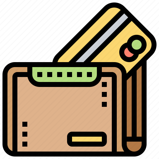commerce, credit, payment, personal, wallet icon