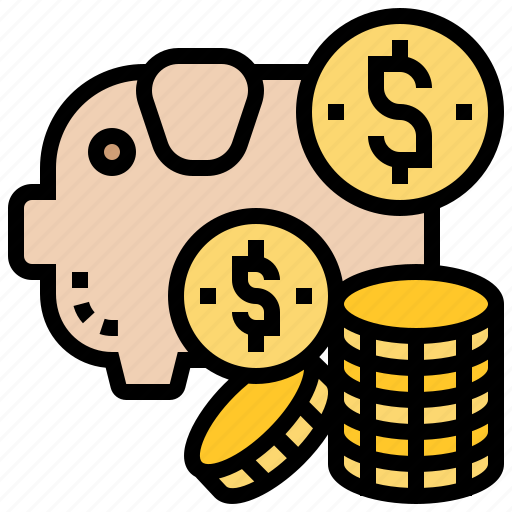 Bank, coins, deposit, piggy, saving icon - Download on Iconfinder
