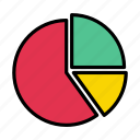 pie, graph, stats, report, chart