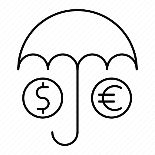 insurance, protection, security, umbrella icon