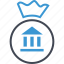 bag, bank, banking, business, money icon
