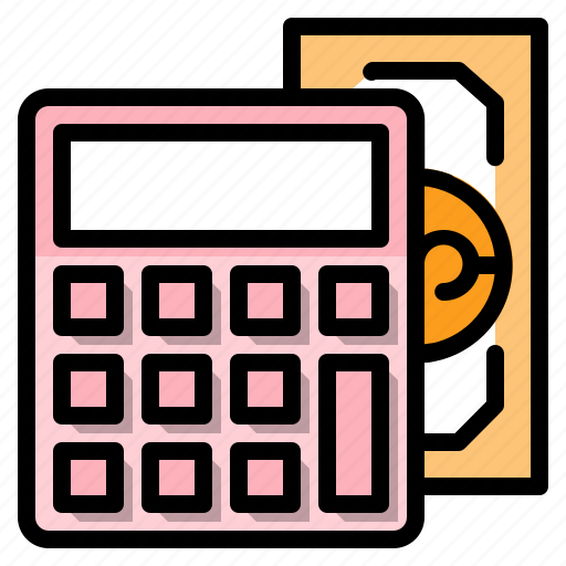accounting, and, banking, business, finance, money icon