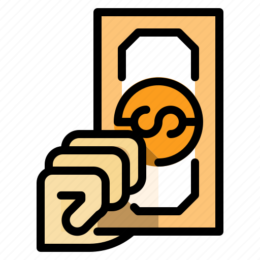 bank, bill, business, cash, method, money, payment icon