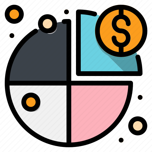 business, chart, graphical, marketing, pie, statistics icon