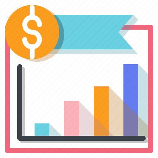 business, finance, graph, graphic, growing, statistics icon